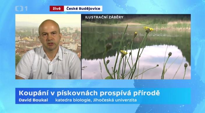 Dr. David Boukal představuje naše společné výsledky v ČT.